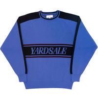 YARDSALE DIAMOND KNIT BLUE/BLACK
