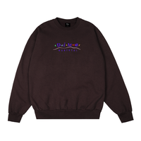 DIME MONTREAL CREWNECK Brown