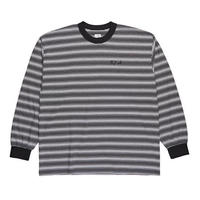 POLAR SKATE CO. GRADIENT LONGSLEEVE Black / White