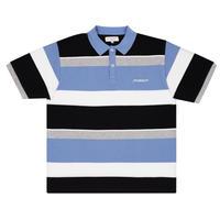 YARDSALE KINGSTON POLO BLUE/WHITE/GREY