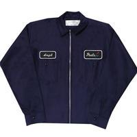 Peels 90's Light-weight Zip Work Jacket Navy