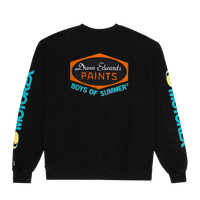 Boys Of Summer DUNN EDWARDS CREWNECK SWEATSHIRT Black