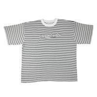 YARDSALE Mobb Knitted Script T-shirt White/Black