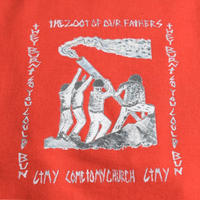 CTMY THE ZOOT OF OUR FATHERS-THE FLAG Tee RED