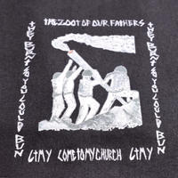CTMY THE ZOOT OF OUR FATHERS-THE FLAG Tee BLACK