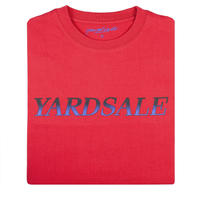 YARDSALE Fade T-shirt Red