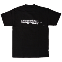 STINGWATER New skin T shirt black