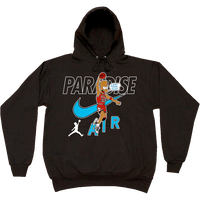 PARADISE CAN'T TOUCH THIS HOODIE BLACK