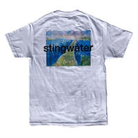 STING WATER Moses T Shirt White