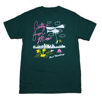 GOOD THINKING Florida Man Tee Green