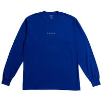 GRAND COLLECTION GRAND LONG SLEEVE TEE ROYAL
