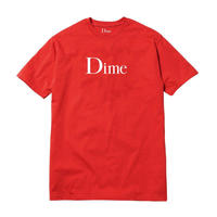 DIME CLASSIC LOGO T-SHIRT Red