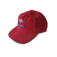 COME SUNDOWN ROSE LADY CAP - RED