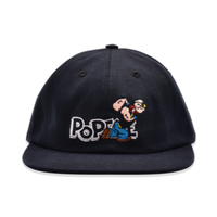 POP TRADING COMPANY POP/EYE SIXPANEL HAT Black