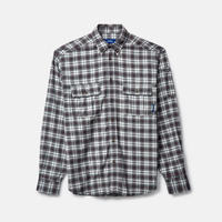 RASSVET Flannel Shirts Grey