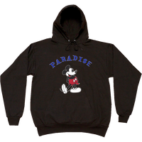 PARADISE MICKY BONER HOODIE BLACK
