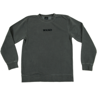 WKND Tonal Crew Neck - Pigment Black