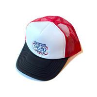 CREATION 9680 MESH CAP RED/WHITE