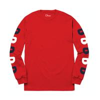 DIME D LONGSLEEVE T-SHIRT   Red