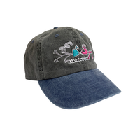 FROG FROG EXISTS CAP BLACK/TURQUOISE