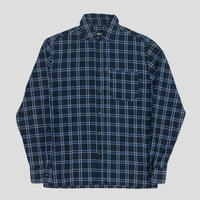PASS~PORT WORKERS CHECK SHIRTS NAVY