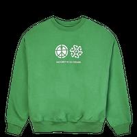RASSVET Logo Sweatshirt - Green