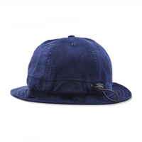 POP TRADING BELL HAT NAVY MINICORD