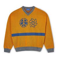 RASSVET Vneck Sweater - Orange