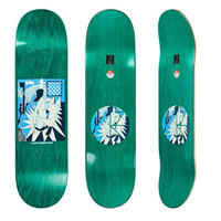 POLAR SKATE CO. AARON HERRINGTON - 69 WOOD GRAIN  8.25