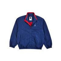 POLAR SKATE CO TRACK JACKET BLUE / RED