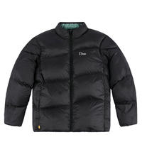 DIME MIDWEIGHT WAVE PUFFER BLACK
