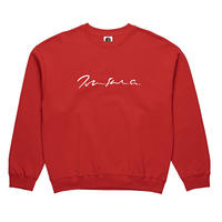 POLAR SKATE CO. SIGNATURE CREWNECK Red