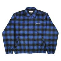 YARDSALE Tartan Harrington Jacket Blue/Black