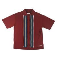 YARDSALE Casino Shirt Burgundy