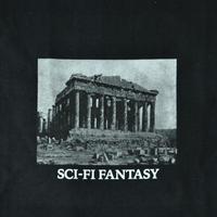 SCI-FI FANTASY  PARTHENON Tee Black
