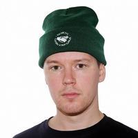 NORTH SKATE MAG  North Supplies Beanie - Forest Green/White