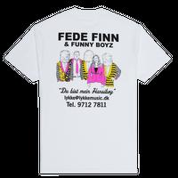Boys Of Summer FEDE FINN T-SHIRT WHITE
