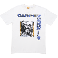 CARPET COMPANY TURNSTILE TEE - WHITE