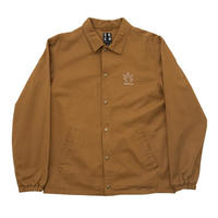 BRONZE56K WEED FINGER COACH JACKET HASHBROWN