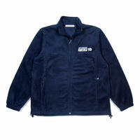 QUARTERSNACKS TOP 10 ZIP FLEECE-NAVY