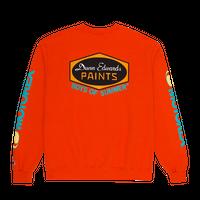Boys Of Summer  DUNN EDWARDS CREWNECK SWEATSHIRT Orange