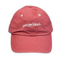 YARDSALE Script cap Strawberry/Tan