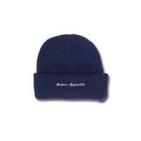 COME SUNDOWN BUON APPETITO BEANIE NAVY