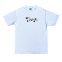 FROG BUSY FROG TEE WHITE