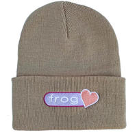 FROG Perfect Heart Beanie Oatmeal