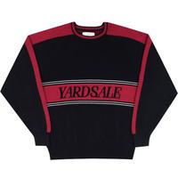 YARDSALE DIAMOND KNIT BLACK/RED