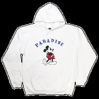 PARADISE MICKY BONER HOODIE WHITE