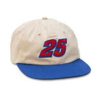QUATERSNACKS RACER CAP NATURAL/ROYAL