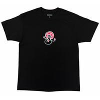 FIDEICIDE STARGIRL TEE RED/PINK/BLACK