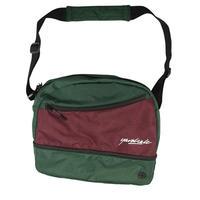 YARDSALE HI8 SHOULDER BAG FOREST/PLUM